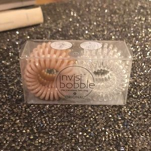 Invisi Bobble Clear/Nude 6 pack hair ties